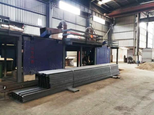 Intermediate frequency melting furnace customer site