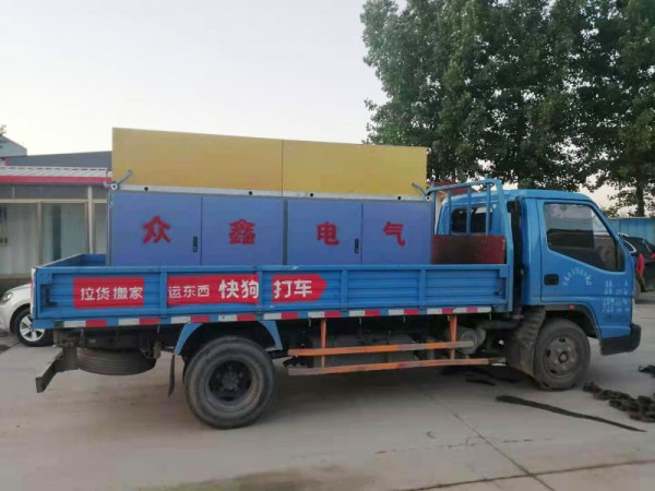 Delivery of Intermediate-frequency induction heating furnace