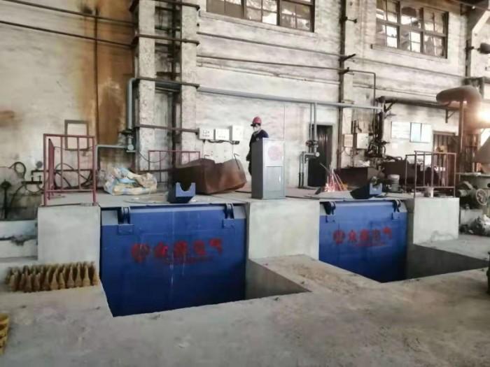 中频熔化炉客户使用现场