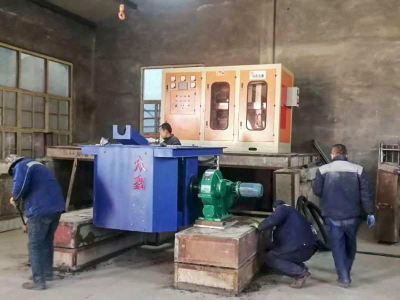 减速机钢壳炉客户现场