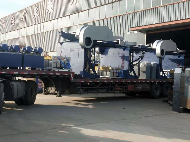 中频熔化炉发货